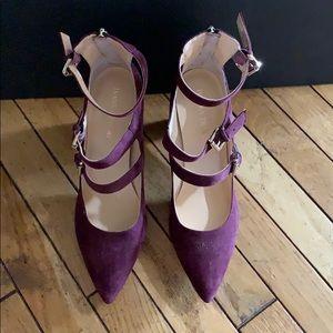 Ivanka Trump Purple High Heels